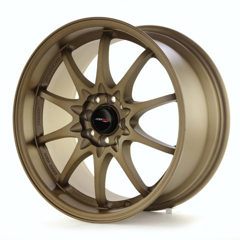 JAPAN RACING JR5 18x9.5/ET38/5x100+114.3/Dark ABZ