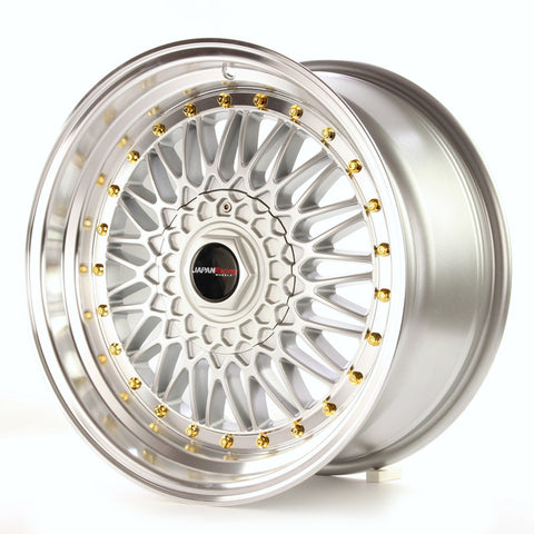 JAPAN RACING JR91880ML4074S / JR9 18x8/ET40/5x112+114.3/Mach Silv