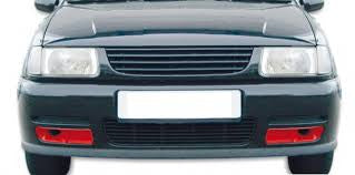 VW Polo 6N 1994-2000 Bumper air intakes in carbon effect.