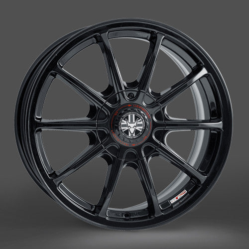 Wolfrace Pro-lite 7.0x15 Gloss black 4 and 5 stud (wheels drilled to order)