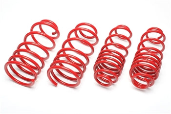 lowering springs fiat 124 spider type NF 2016-