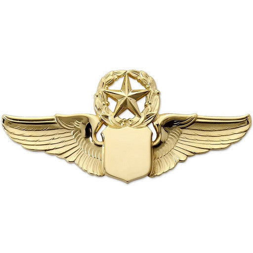 "3"" Wing Shield w/ Star Gold"