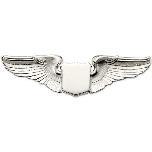 "3"" Wing Shield Silver"