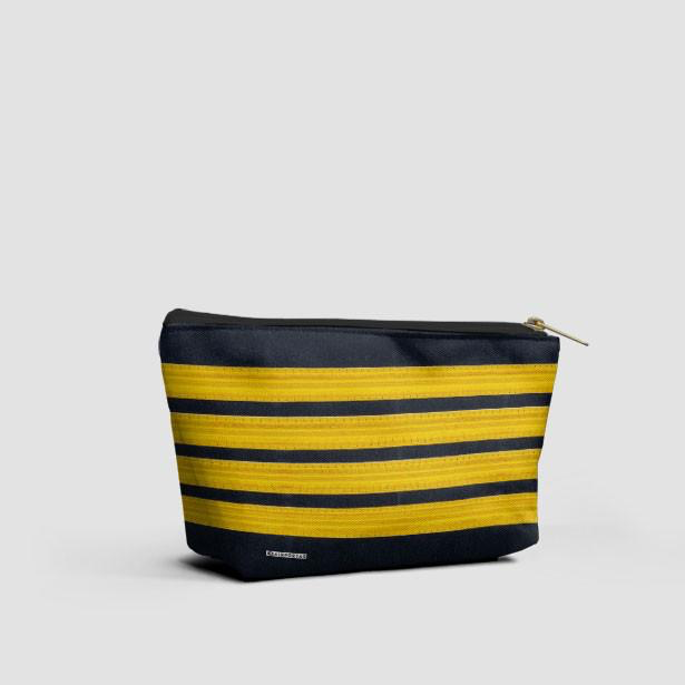 4 Bars Pilot Stripes - Pouch Bag