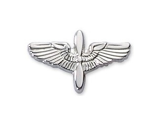 "5/8"" Prop Wing Silver"