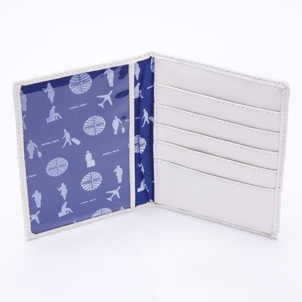 Pan Am Passport Cover White/Silver