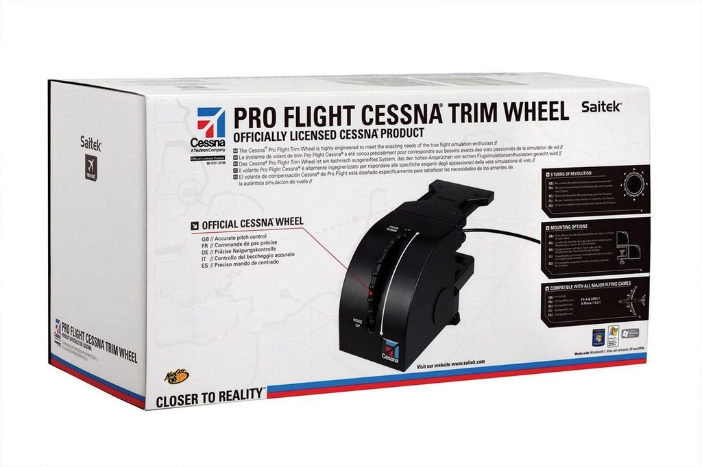 Pro Flight Cessna Trim Wheel