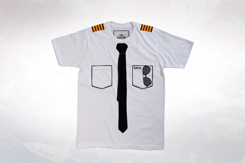T-Shirt: Pilot Captain