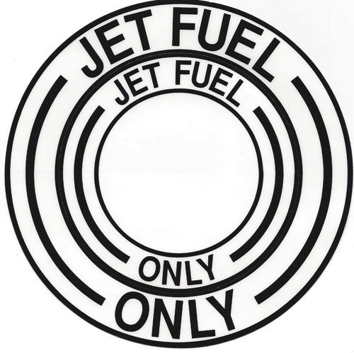Jet Fuel Decal