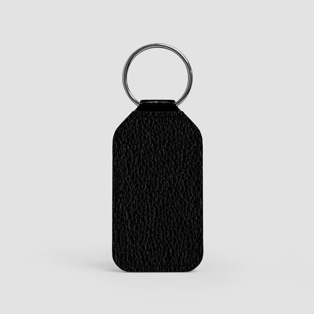 Private Jet - LEATHER KEYCHAIN