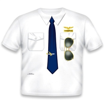 Add A Kid Pilot Shirt
