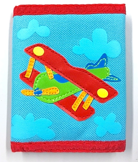 Kid-friendly Airplane Wallet