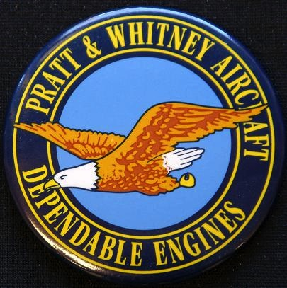 Fridge Magnet Pratt and Whitney