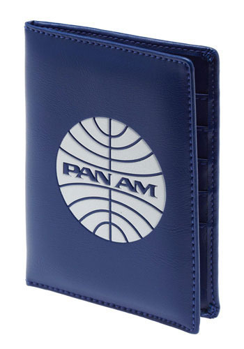 Pan Am Passport Cover Blue