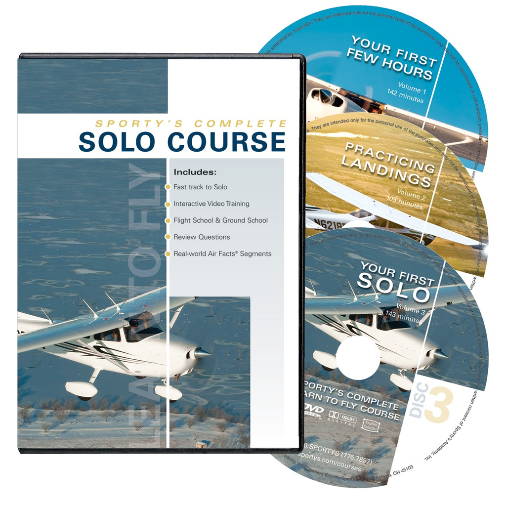 Sporty's Solo Course (3 DVDs)
