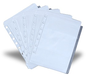 Enroute Chart Pockets Set of 5