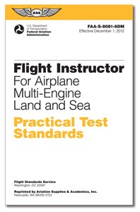 PTS - Flight Instructor Multi-Engine Land and Sea