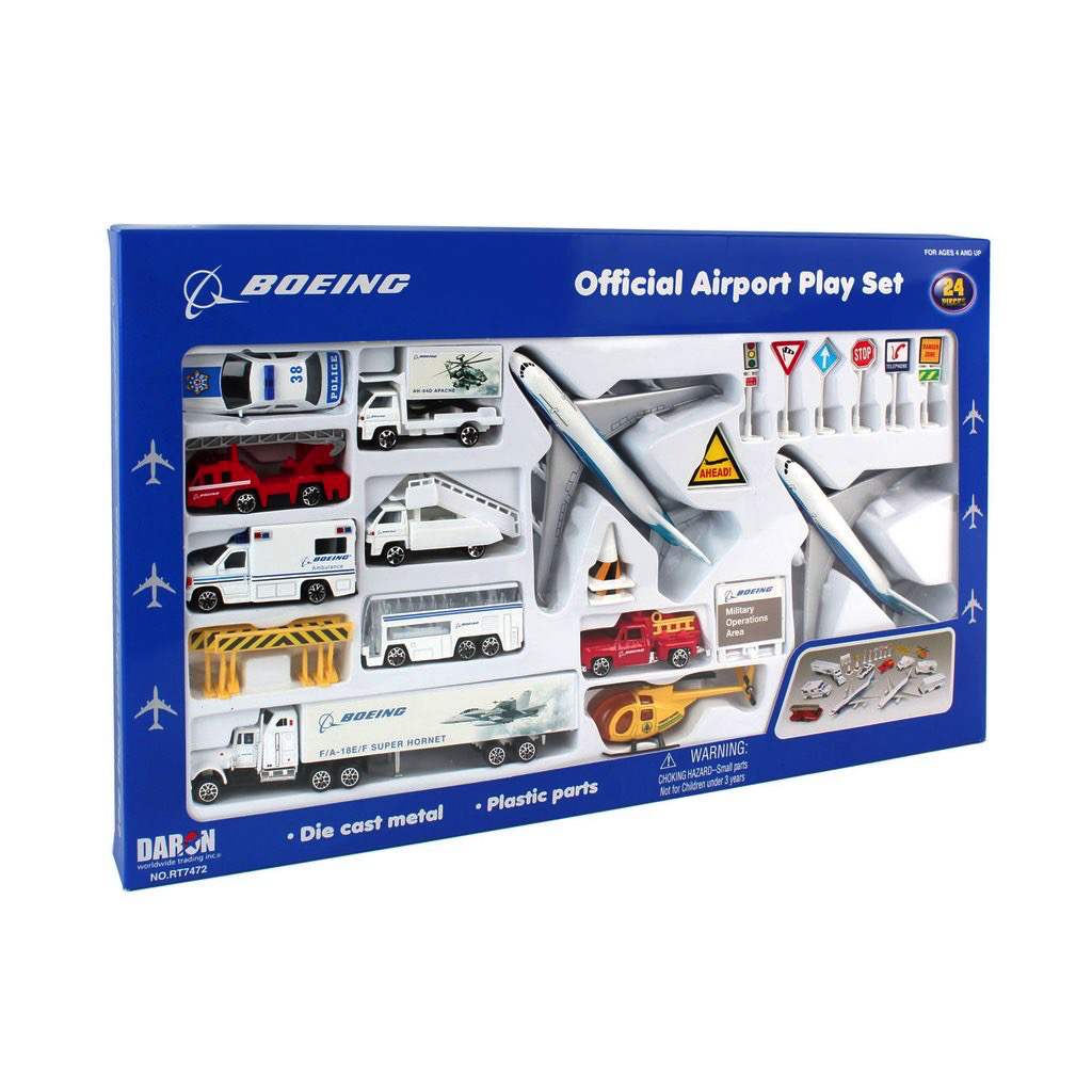 Boeing Commercial Airport Playset
