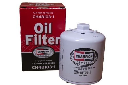 Oil Filter: CH48103-1
