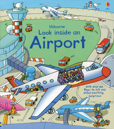 Airport Look Inside Flap Book