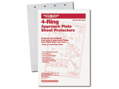 NACO Approach Plate Sheet Protectors (Easy Fit)
