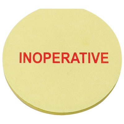 INOPERATIVE Post-It Notes