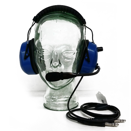 WICOM ABS Blue Headset