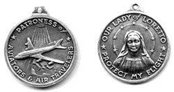 Prayer to Our Lady of Loreto Medallion