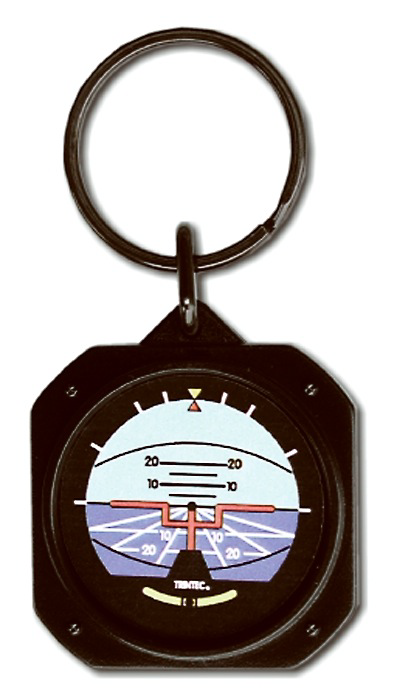 Artificial Horizon Instrument  Key Chain  Artificial Horizon Instrument Key Chain