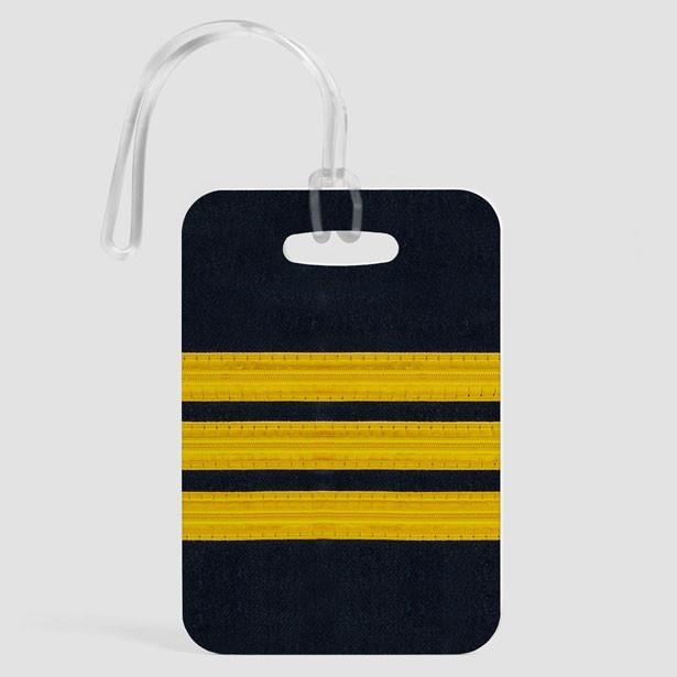 PILOT STRIPES - LUGGAGE TAG