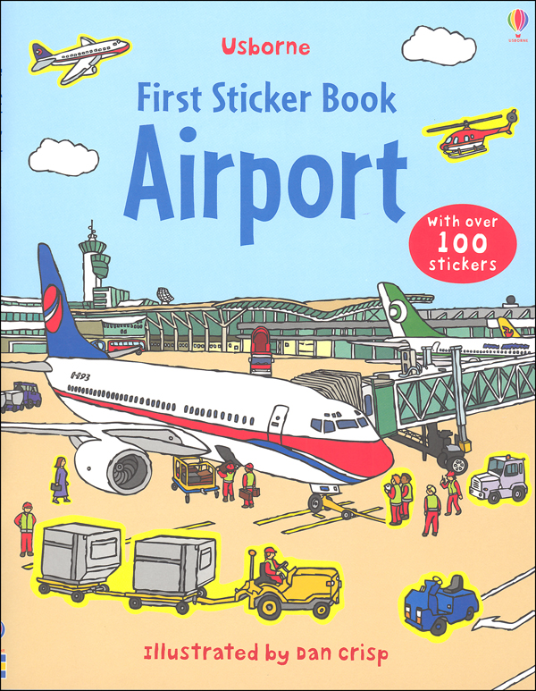 First Sticker Book Airport