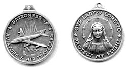 Our Lady of Loreto Medallion