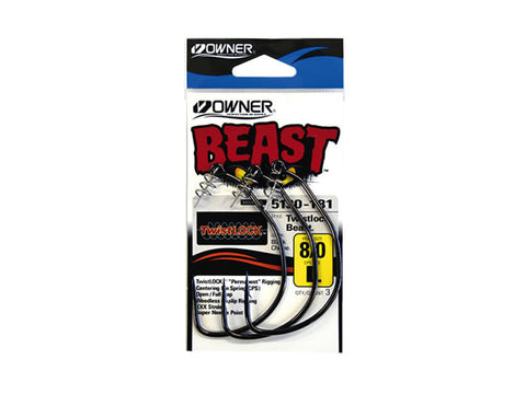 Owner Beast Hooks with Twistlock