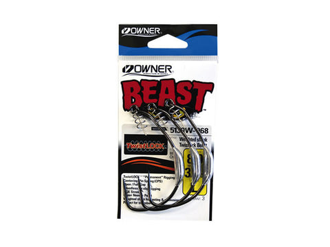 Owner Beast Hooks Weighted