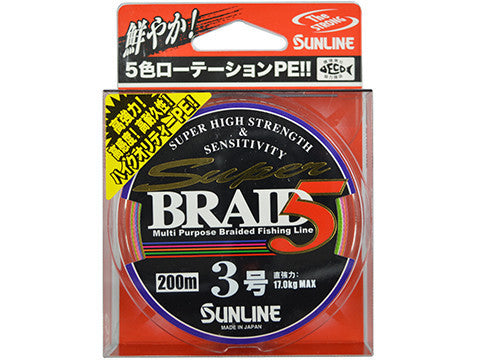 SUNLINE SUPER BRAID 5 200M