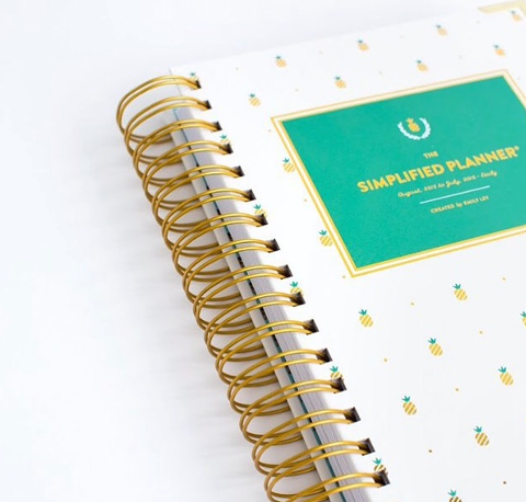 picture about The Simplified Planner identified as The Simplified Planner as a result of Emily Ley Print Paper