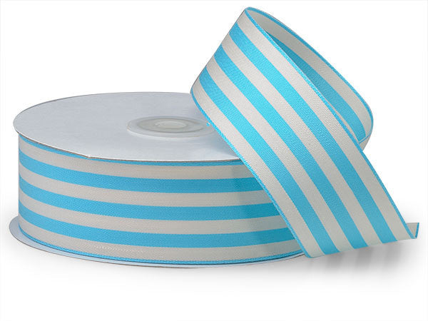 Turquoise Cabana Stripe - Print&Paper