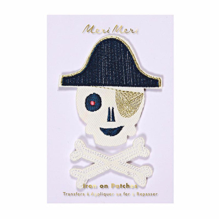 Pirate Embroidered Patches - Print&Paper