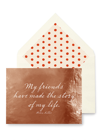 Friendship is When - Quotable Card