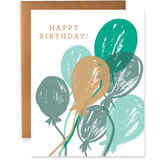 bday card 9th letterpress