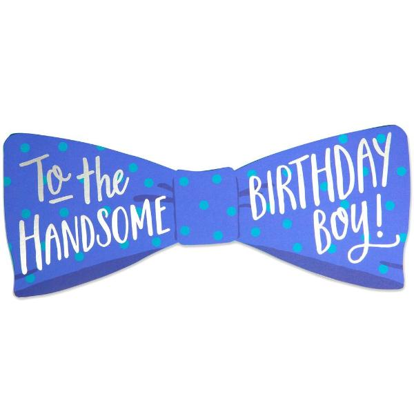 Bow Tie Birthday Card