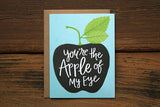 Apple of My Eye Card - Print&Paper