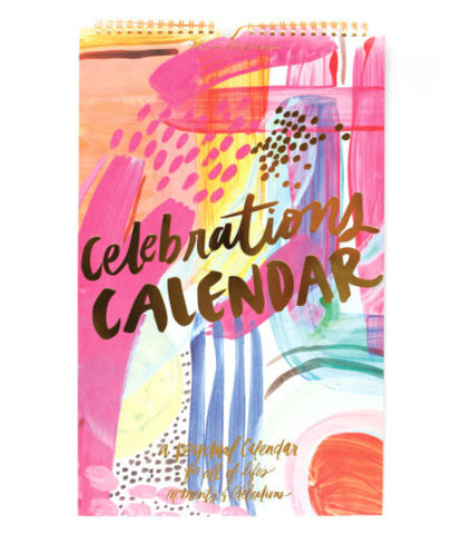 2018-2019 Colorblock Magnetic Monthly Pad