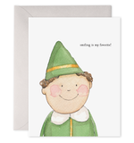 elf quote card