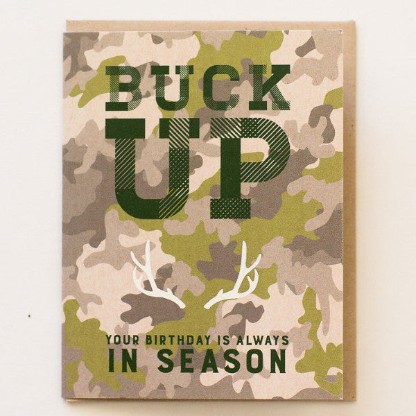 Buck Up Birthday - Print&Paper