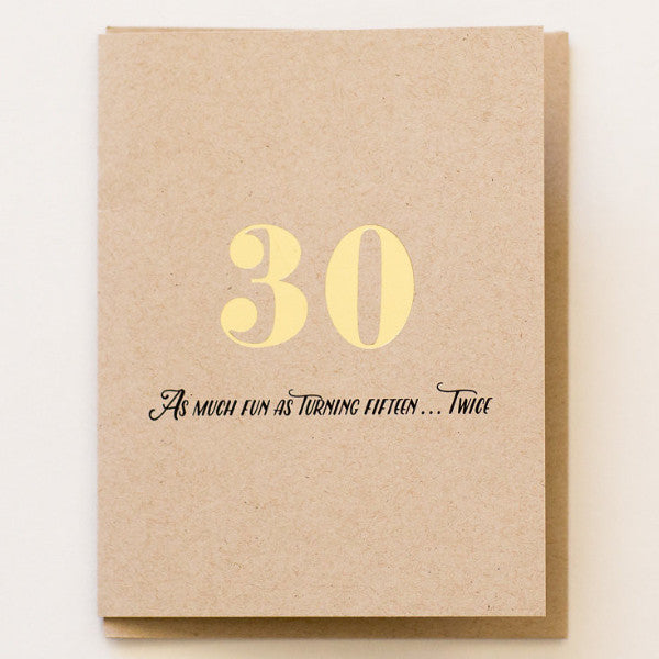 30th Birthday - Print&Paper