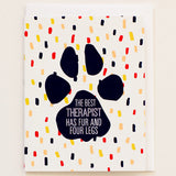 Best Therapist Fur and 4 Legs - Print&Paper