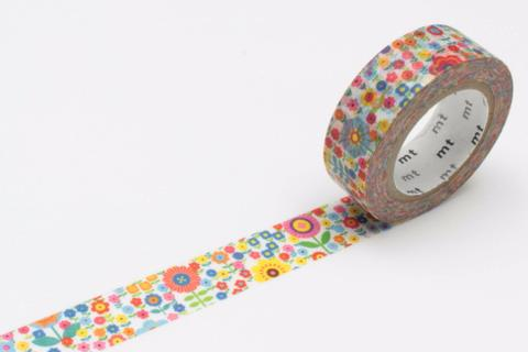 Mini Flower Garden Washi - Print&Paper