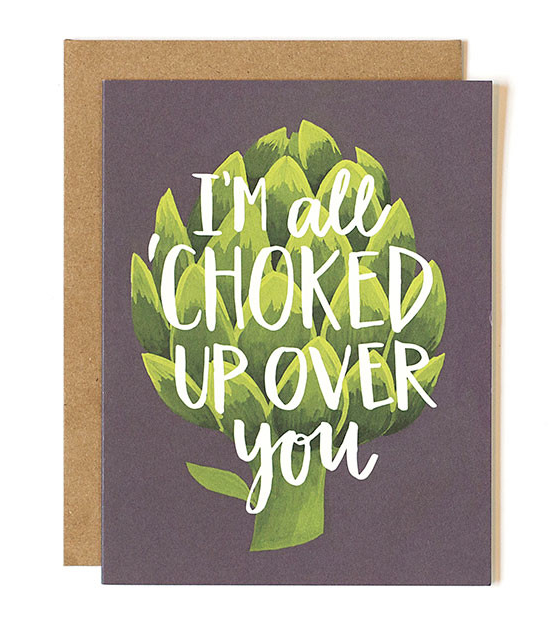 All Choked Up Card - Print&Paper