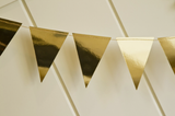 Gold Mini Banner - Print&Paper